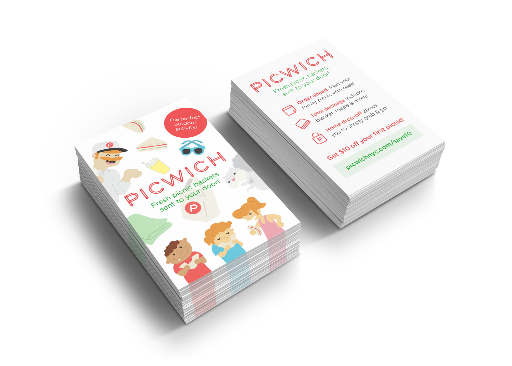 Picwich - Promotional Cards